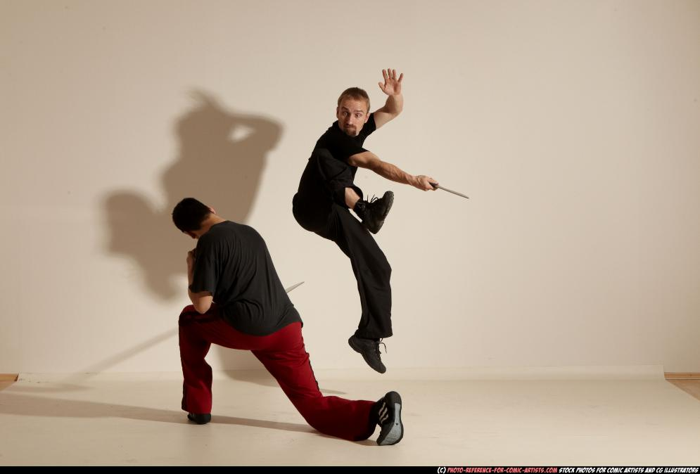 Image from Comic Artist - Eskrima Fight - 162932011_06_fighters3_smax_eskrima_pose3_31.jpg
