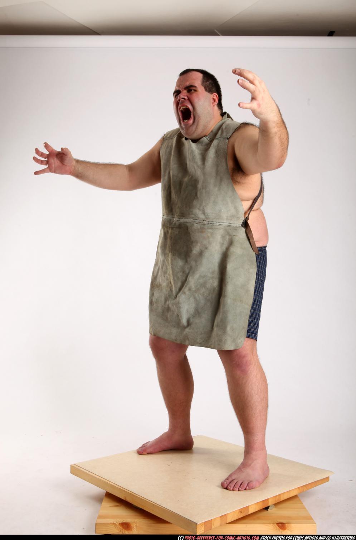 Image from Comic Artist - Creepy Caveman Roaring - 202712012_01_prehistoric2_angry_pose_07_c.jpg