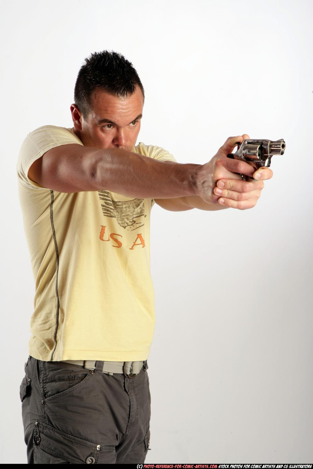 Image from Johnny Shooting Revolver - 9040-2009_12_johnny_aiming_revolver_01.jpg